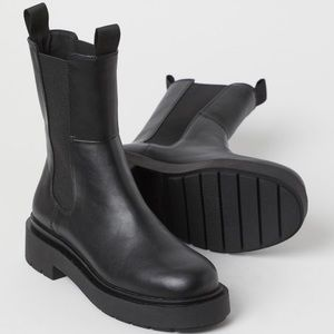 H&M High Profile Platform Chelsea Boot